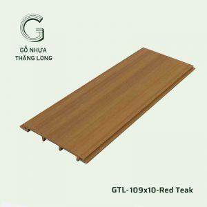 Gỗ Nhựa Ngoài Trời GTL-109x10-Red Teak