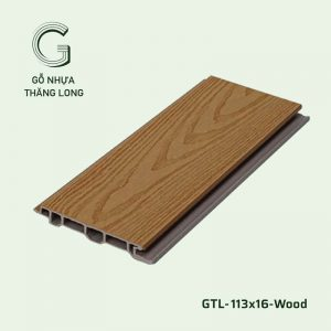 Gỗ Nhựa Ngoài Trời GTL-113x16-Wood