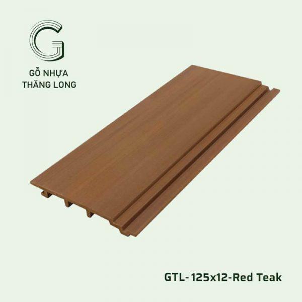 Gỗ Nhựa Ngoài Trời GTL-125x12-Red Teak