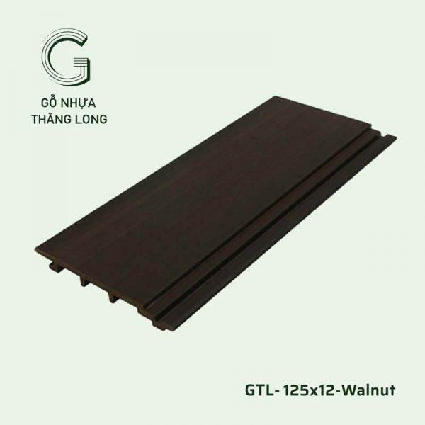 Gỗ Nhựa Ngoài Trời GTL-125x12-Walnut