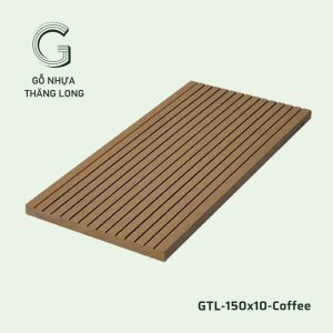 Gỗ Nhựa Ngoài Trời GTL-150x10-Coffee