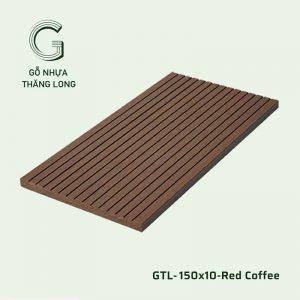 Gỗ Nhựa Ngoài Trời GTL-150x10-Red Coffee