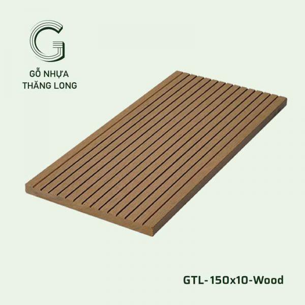 Gỗ Nhựa Ngoài Trời GTL-150x10-Wood