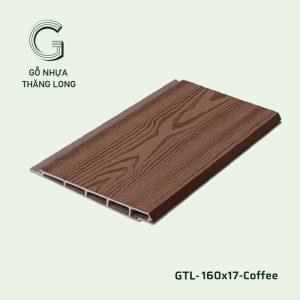 Gỗ Nhựa Ngoài Trời GTL-160x17-Coffee