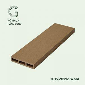 Lam Gỗ Nhựa Ngoài Trời TL3S-20x92-3S-Wood