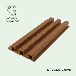 Tấm Ốp Lam Sóng G-130x26-Cherry