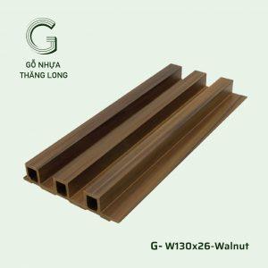 Tấm Ốp Lam Sóng G-130x26-Walnut