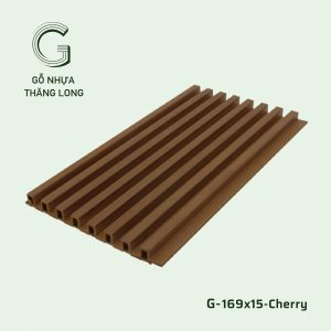 Tấm Ốp Lam Sóng G-169x15-Cherry