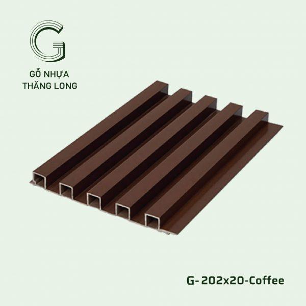 Tấm Ốp Lam Sóng G-202x20-Coffee