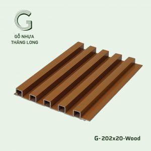 Tấm Ốp Lam Sóng G-202x20-Wood