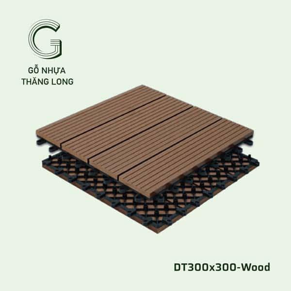 Vỉ Gỗ Nhựa DT300x300 Wood