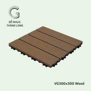 Vỉ Gỗ Nhựa VG300x300 Wood