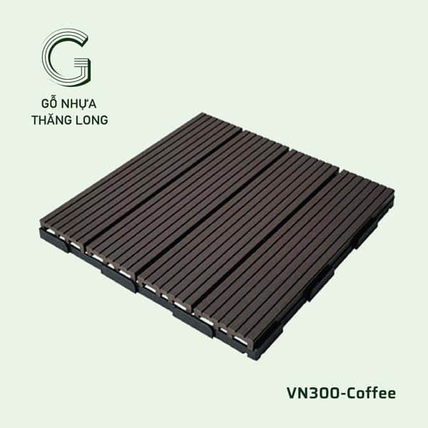 Vỉ Gỗ Nhựa VN300 Coffee