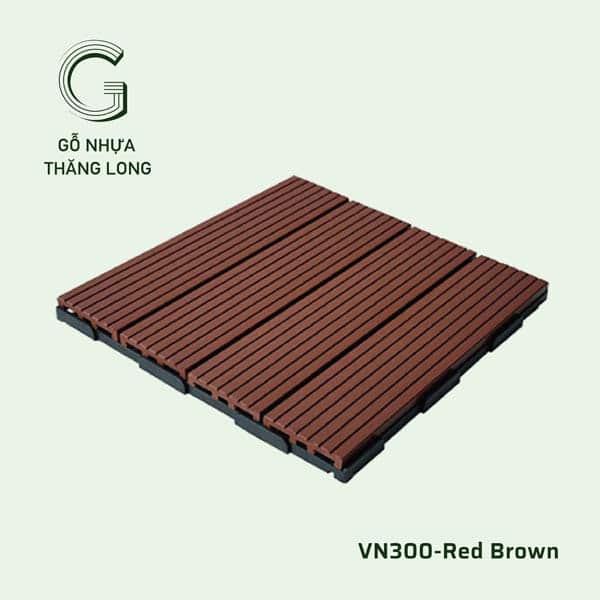 Vỉ Gỗ Nhựa VN300 Red Brown