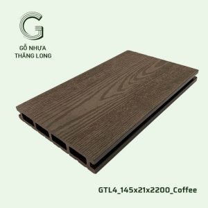 Gỗ Nhựa Ngoài Trời GTL4_145X21X2200_Coffee (2)