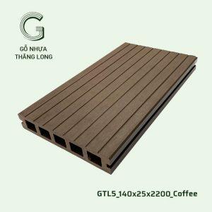 Sàn Gỗ Nhựa Ngoài Trời GTL5_140X25X2200_Coffee (2)