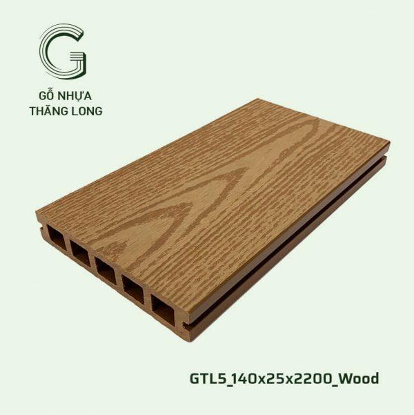 Sàn Gỗ Nhựa Ngoài Trời GTL5_140X25X2200_Wood (2)