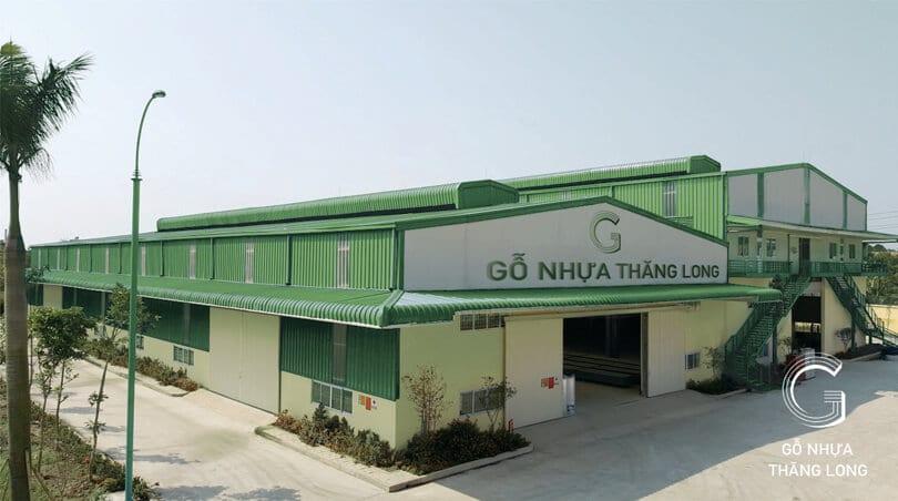 Nhà Xưởng Sản Xuất Gỗ Nhựa Thăng Long