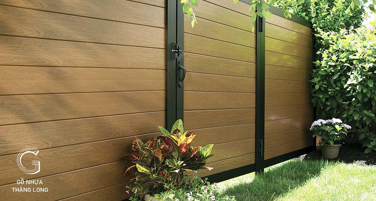 Báo giá cổng gỗ ngoài trời tại gonhuathanglong.com
